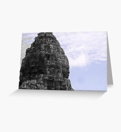 Stone Guardians Greeting Card
