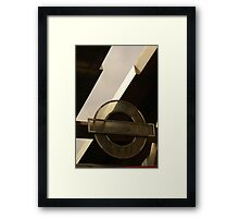 The bus station at Vauxhall Framed Print