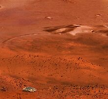 Wheel Tracks on Mars by Pal Virag