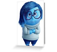 INSIDE OUT - SADNESS 01 Greeting Card