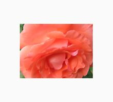 Macro of a Peach Rose in Full Bloom: Hope You Enjoy  Unisex T-Shirt