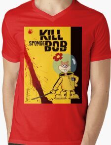 Kill SpongeBob Mens V-Neck T-Shirt
