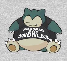 Frankie Say Snorlax Kids Clothes