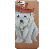 Sherriff Bagel iPhone Case/Skin