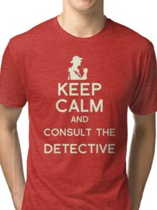 Consult the Detective Tri-blend T-Shirt