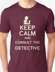 Consult the Detective T-Shirt