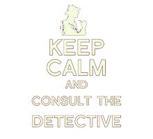 Consult the Detective Photographic Print