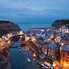 The Blue Hour in Staithes by Vaidotas Mišeikis