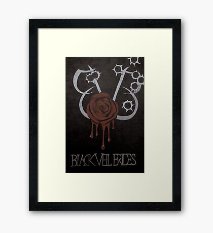 Black Veil Brides Fanart Framed Print
