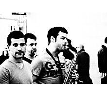 Love life love music ... Photographic Print