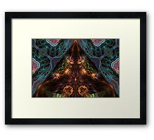 unveiling reality  Framed Print