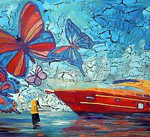 The Boat by Juhan Rodrik