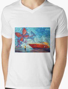 The Boat Mens V-Neck T-Shirt