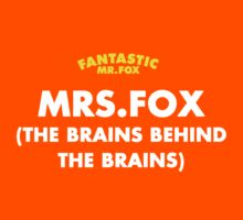 Fantastic Mrs. Fox by Snufkin