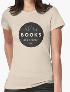 Big Books Love Womens Fitted T-Shirt