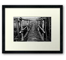 Little Foot Bridge Framed Print