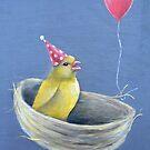 Bird-day Party by Amanda  Van Buren