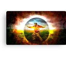 Protection was left to our own devices Canvas Print