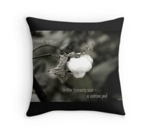 Cracked Open Throw Pillow