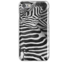 Striped in a Line iPhone Case/Skin