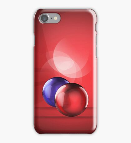 iCase Red Balls iPhone Case/Skin
