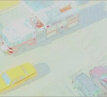 Yellow Cab by Tim Ruane