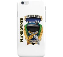 SSN-784 USS North Dakota Plank Owner Crest iPhone Case/Skin