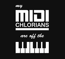 My Midi Chlorians Are Off The Scale Unisex T-Shirt
