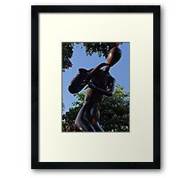 Saxophonist - Saxofonista Framed Print