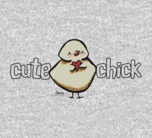 Cute Chick {light} Kids Tee