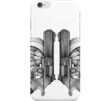 guns and wings iPhone Case/Skin