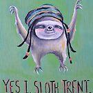 Sloth Trent by Amanda  Van Buren