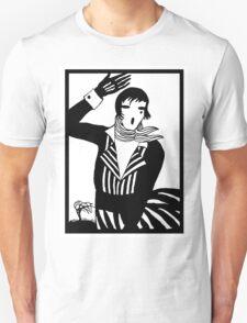 The female Scream, black and white Vector Art Unisex T-Shirt