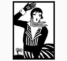 The female Scream, black and white Vector Art T-Shirt