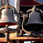 Old bells of the SanteFe Railroad by Lorin Richter