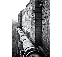 Pipe View Photographic Print