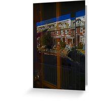 Neighborhood Reflections - Washington, DC Greeting Card