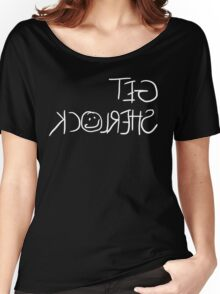 Get Sherlock Reflection in White Women's Relaxed Fit T-Shirt
