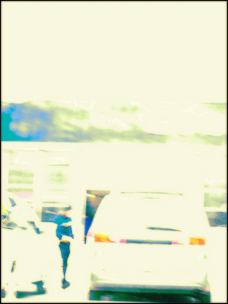 Person by a Car by Tim Ruane