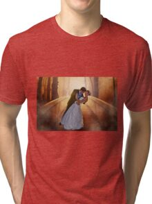 Wedding Bride and Groom Tri-blend T-Shirt