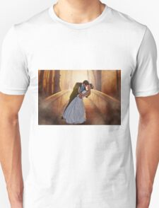 Wedding Bride and Groom Unisex T-Shirt