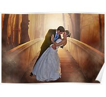 Wedding Bride and Groom Poster