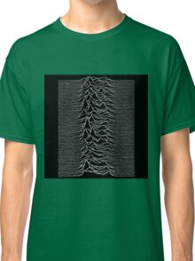 Music band waves - Black&White Classic T-Shirt