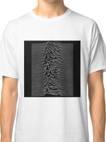 Music band waves - Black&White Classic T-Shirt