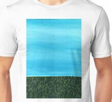 It's a beautiful day ~ Sky and Grass Unisex T-Shirt