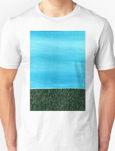 It's a beautiful day ~ Sky and Grass T-Shirt