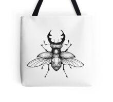 Geometric Stagbeetle Tote Bag