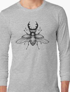 Geometric Stagbeetle Long Sleeve T-Shirt