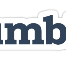 Tumblr logo Sticker