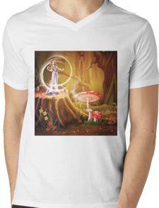 Fairytale Mens V-Neck T-Shirt
